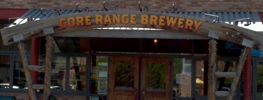 Gore Range Brewery is one of Best Bars in Colorado to watch NFL SUNDAY TICKET™.