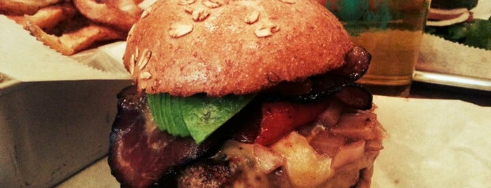 Bareburger is one of I heart burgers!.