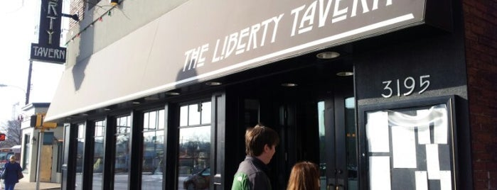 Liberty Tavern is one of 100 Very Best Restaurants - 2012.