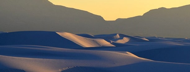 White Sands National Monument is one of road trip u.s.a..
