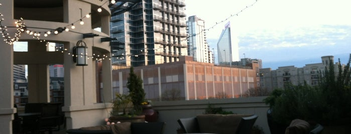 Rooftop Terrace At Post Uptown Place is one of Charlotte Night Life.