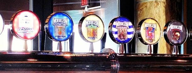 Moerlein Lager House is one of Cincinnati Beer Geek.