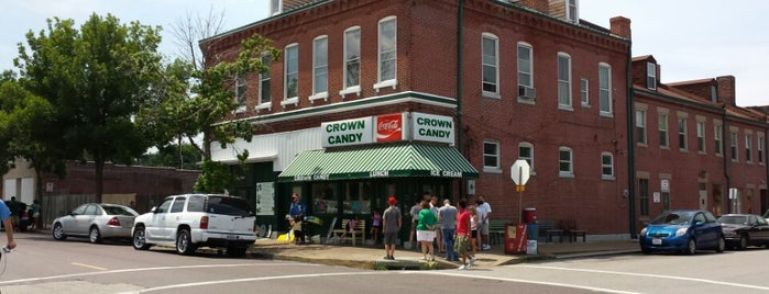 Crown Candy Kitchen is one of Places I End Up Frequently.