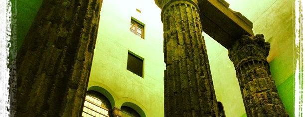 Temple d'August is one of Museus i monuments de Barcelona (gratis, o quasi).