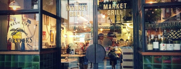 The Market Grill is one of Makan.