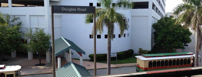 MDT Metrorail - Douglas Road Station is one of My favorite places :).