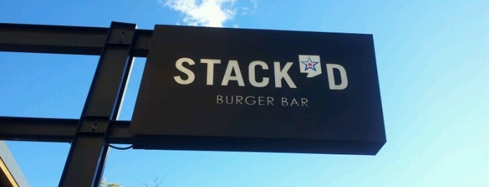 Stack'd Burger Bar is one of Kitty list.