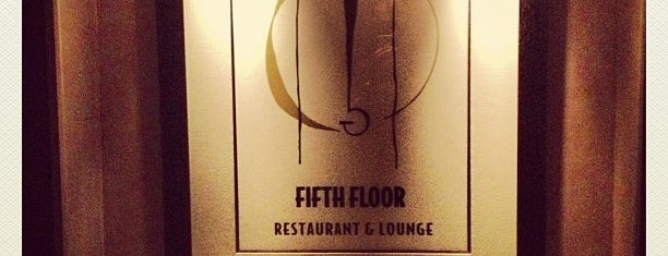 Fifth Floor is one of my todos - Bars.