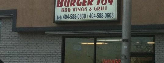Burger Joy is one of Late Night Dining Atlanta.