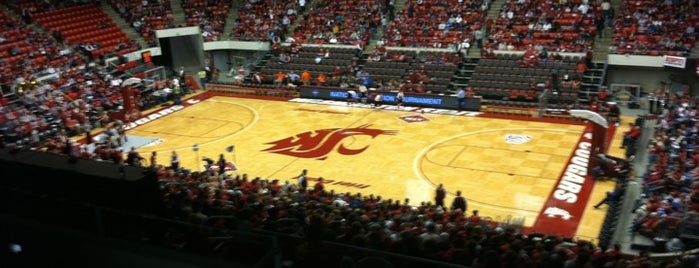 Beasley Coliseum is one of Basketball Arenas of the Pac-12.