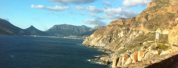 Chapmans Peak Drive is one of World Sites.