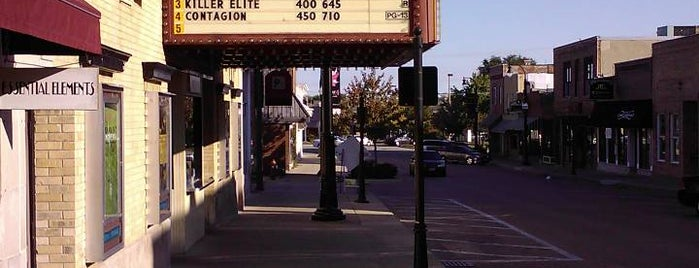 Classic Cinemas Woodstock Theater is one of Experience the Square.