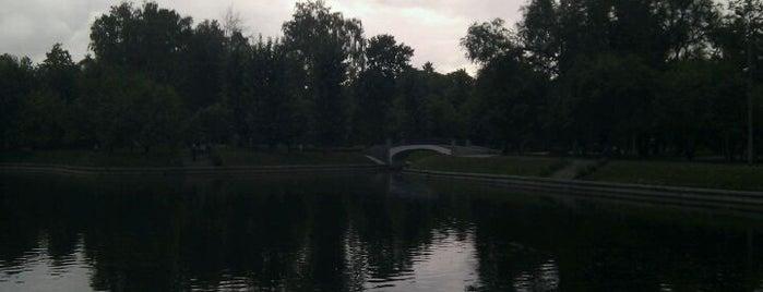 Парк им. Мандельштама (Усадьба Трубецких в Хамовниках) is one of Лучшие парки Мск.