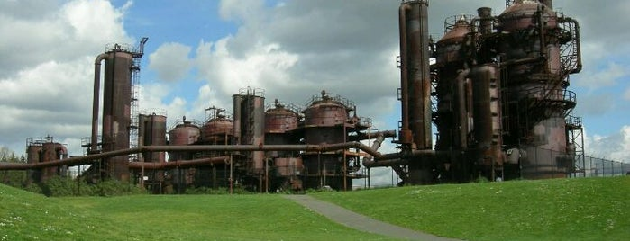 Gas Works Park is one of Seattleite Badge.
