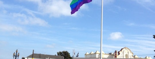 Castro Pride Flag Pole is one of SF City Guides Tours of San Francisco.