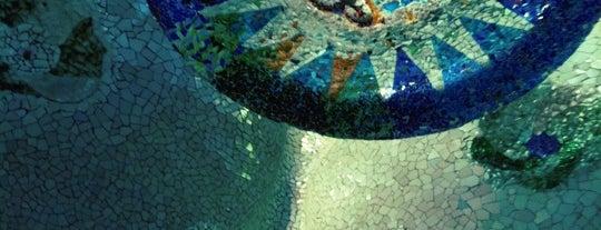 Park Güell is one of Follow Gaudí around Barcelona.