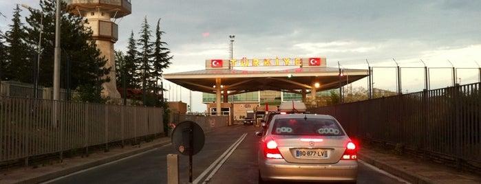 Kapıkule Sınır Kapısı is one of BURSASPOR 4sq.