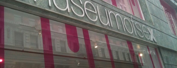 Museum of Sex is one of NYC Sexual Underground.