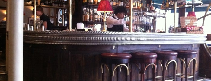 Cafe Boheme is one of London as a local.