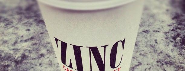 Zinc Café is one of Good Karma.