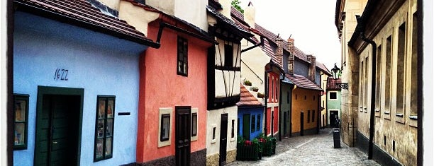 The Golden Lane is one of Prague.