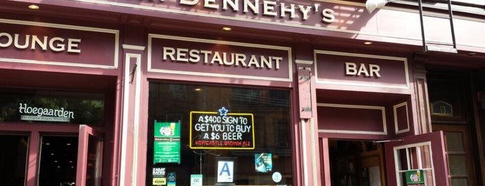 Mr. Dennehy's is one of NYC Soccer.