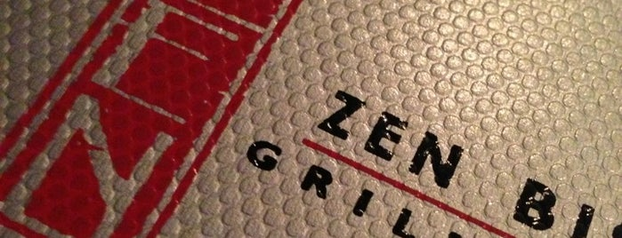 Zen Bistro Grill + Sushi is one of Tampa Bay Date Nights.