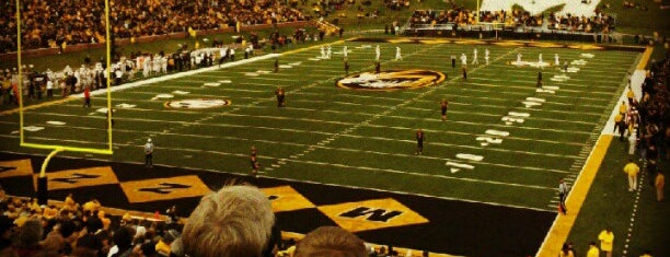 Faurot Field at Memorial Stadium is one of MU History Tour.