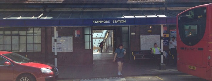Stanmore London Underground Station is one of Tube Challenge.