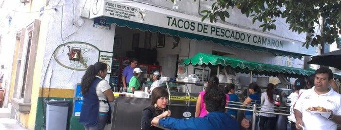Taco Fish La Paz is one of Un (abogado) chilango en Quéretaro(y otras partes).