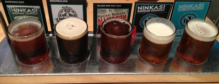 Ninkasi Brewing Tasting Room is one of Craft beer around the world.