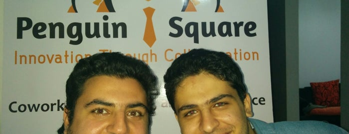 penguin square coworking space is one of Egypt Coworking Spaces.