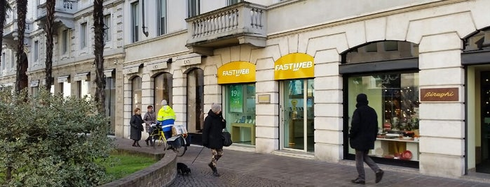 FASTWEB Store is one of Monobrand FASTWEB.