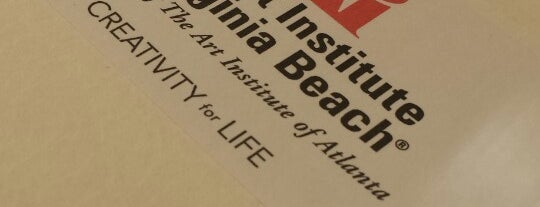 The Art Institute Of Virginia Beach is one of Must-visit Arts & Entertainment in Virginia Beach.