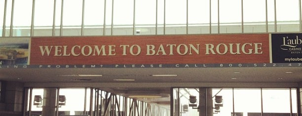 Baton Rouge Metropolitan Airport (BTR) is one of Airports been to.