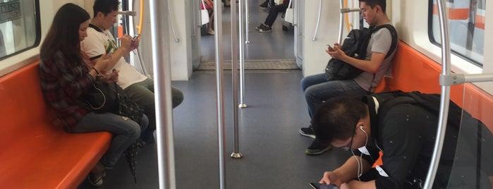 Meilan Lake Metro Stn. is one of 上海轨道交通7号线 | Shanghai Metro Line 7.
