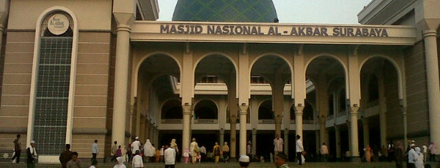 Masjid Nasional Al-Akbar is one of Check in #durjana w/ #mempASUna.