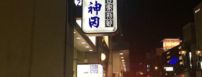 そばの神田 東一屋 駅前店 is one of 飯.