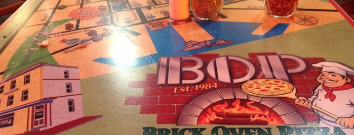 Brick Oven Pizza is one of Triple D Restaurants.