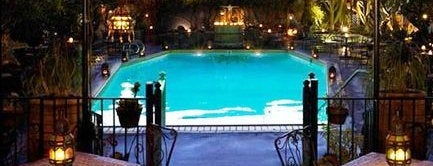 Hotel Figueroa is one of Kiesha's tips.