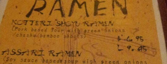 Asa Ramen is one of Ramen.