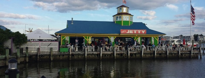 The Jetty Restaurant & Dock Bar is one of bars.