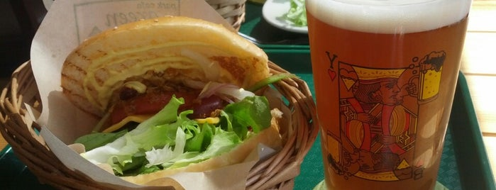 park cafe green minatomirai is one of 美味しいもの.