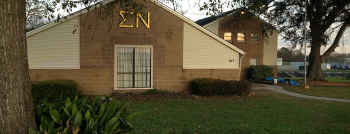 Sigma Nu - Eta Nu Chapter is one of Sigma Nu Chapter Houses.