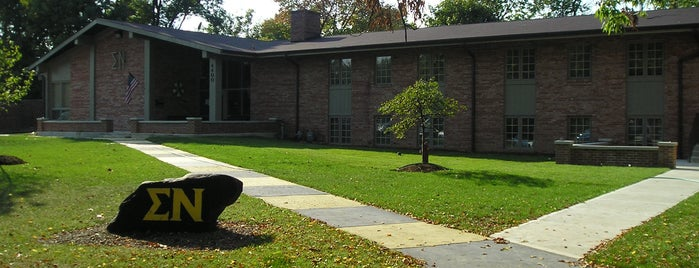 Butler University - Sigma Nu is one of Sigma Nu Chapter Houses.