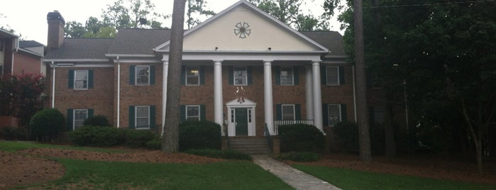 Sigma Nu (ΣΝ) is one of Sigma Nu Chapter Houses.