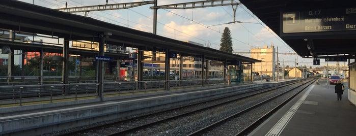Bahnhof Murten / Gare de Morat is one of Bahnhöfe Top 200 Schweiz.