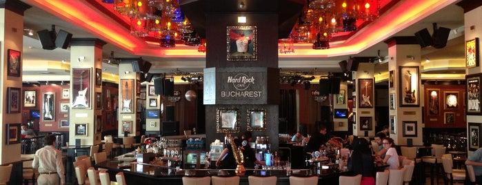 Hard Rock Cafe București is one of HARD ROCK CAFE'S.