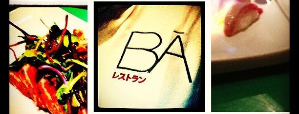BĀ is one of Restaurantes de sushi en Málaga Capital.