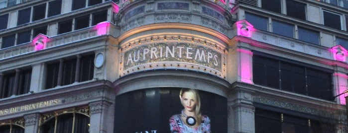 Printemps Haussmann is one of First Time in Paris?.